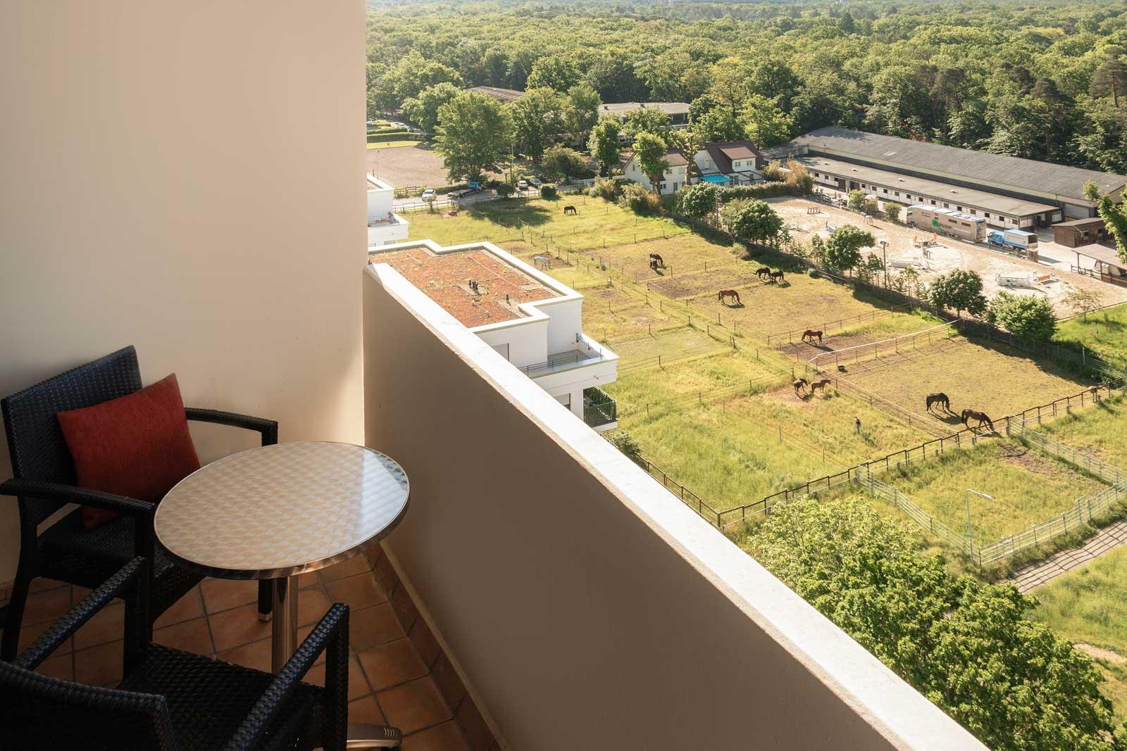 Premiumzimmer Twin Bett mit Balkon